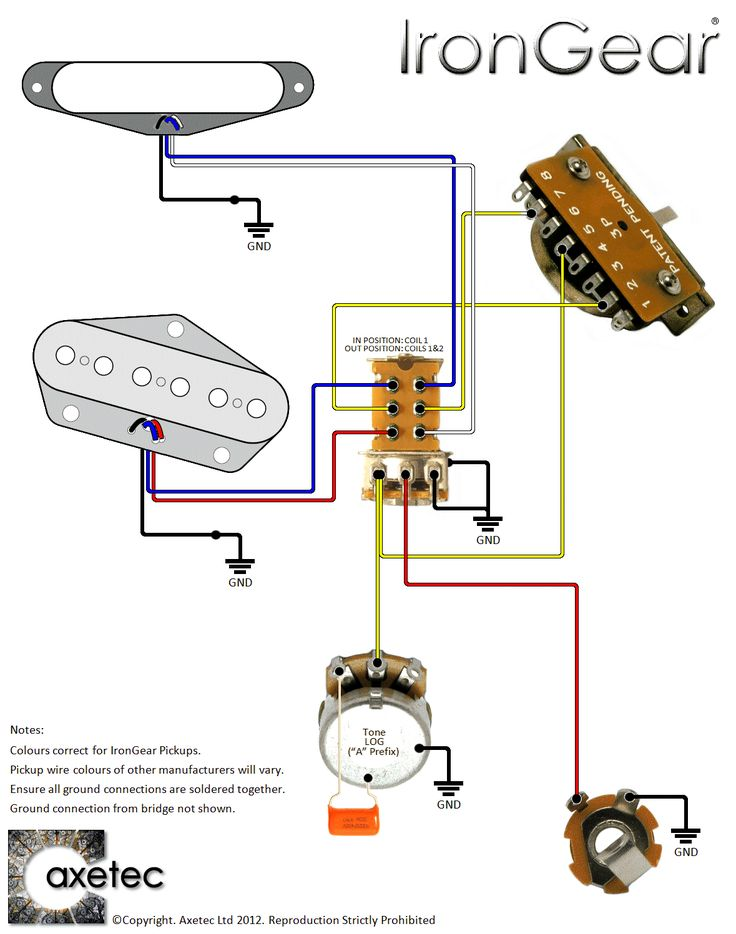 Wiring Diagram For Telecaster 3 Way Switch