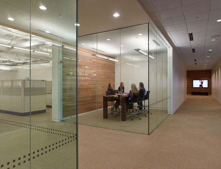 Glass Conference Room Interior Design Offices