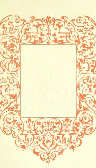 free victorian border frame graphic formatted for ebook cover