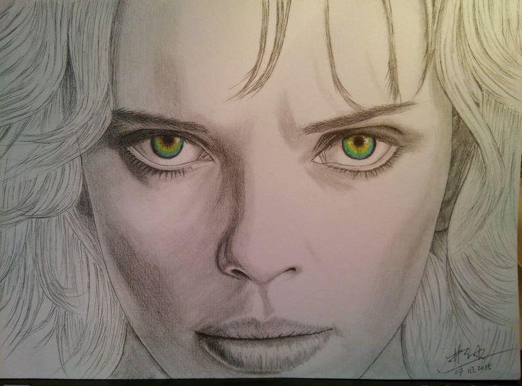 Lucy (Scarlett Johansson) by Xueming Lin by XuemingLin.deviantart.com on @DeviantArt
