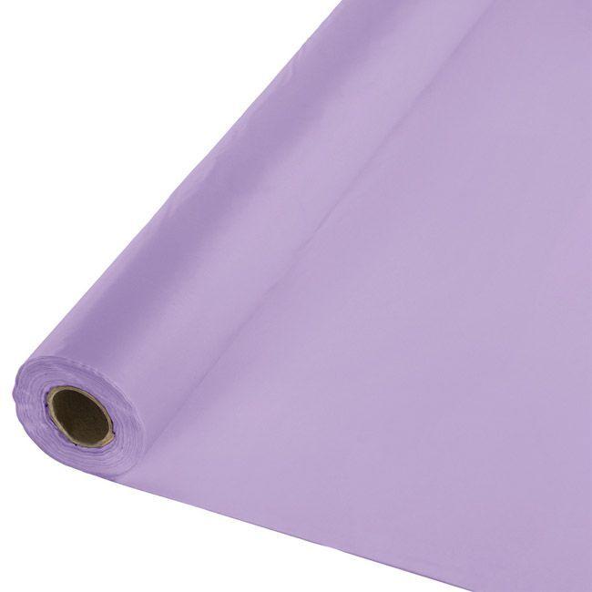 Lavender Plastic Tablecloth 100 Foot Roll 100foot Lavender Plastic Roll Tablecloth Tellergabelmesserloffel Teller Messer Gabel