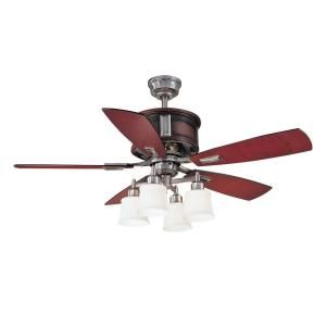 Garrison 52 in. Gunmetal Ceiling Fan-AC438-GM at The Home Depot This is my fan....getting this for the kitchen.