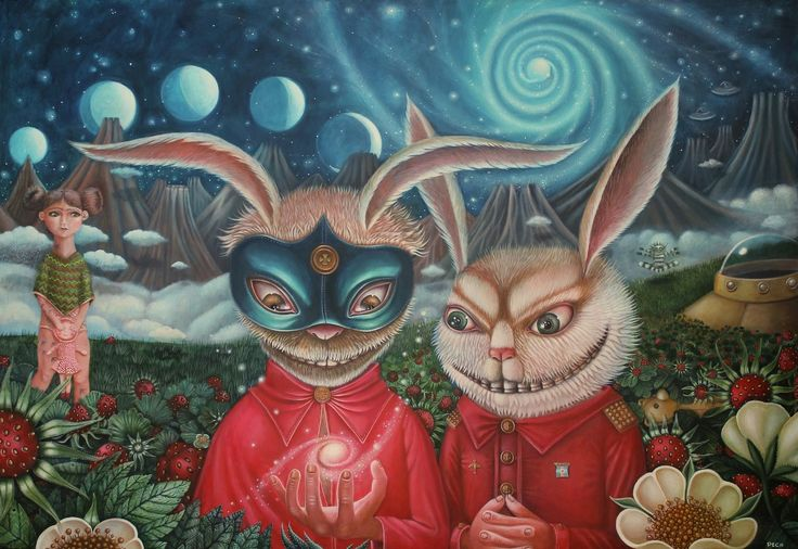 """Day Tripper"" by Peca  at Fousion Gallery"