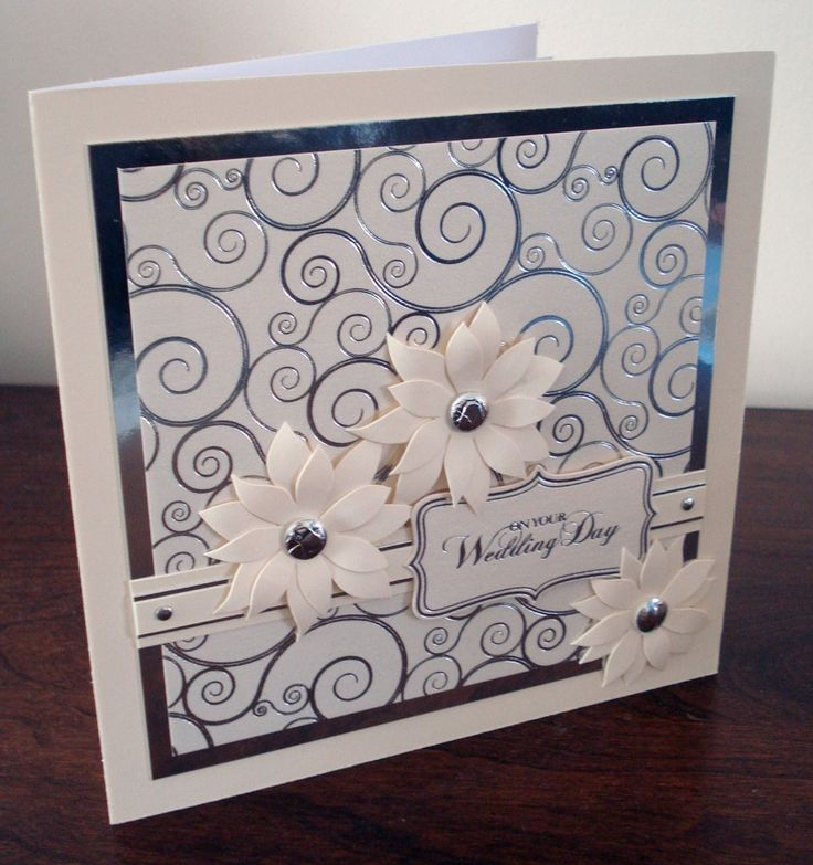 118 962x1024 Pretty Crafted Wedding Wish Card