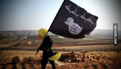 Idea: replace all ISIS pictures with rubber ducks