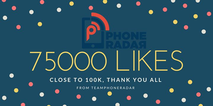 We made it to 75,000 Likes on this Page. Thank you all for joining & being a part of the PhoneRadar Community.  On 20th February our Giveaway goes live. Stay Tuned & We look forward to 100k likes.  Team PhoneRadar. #fashion #style #stylish #love #me #cute #photooftheday #nails #hair #beauty #beautiful #design #model #dress #shoes #heels #styles #outfit #purse #jewelry #shopping #glam #cheerfriends #bestfriends #cheer #friends #indianapolis #cheerleader #allstarcheer #cheercomp  #sale #shop…