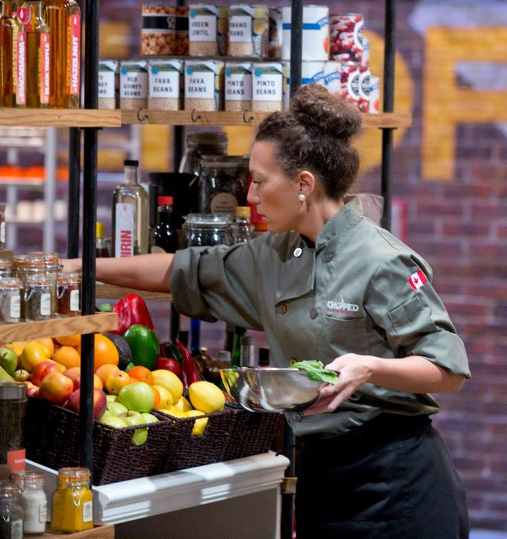 Chef Tara does a little gorcery shopping in our Chopped Canada pantry.
