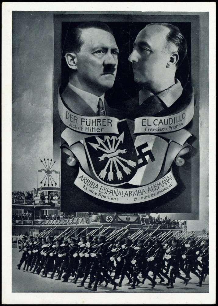 Spain - 1936-39. - GC - Third Reich Propaganda, Wehrmacht, Legion Condor