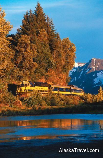 Alaska Railroad - Glacier Discovery Train