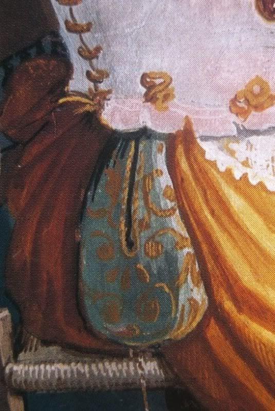 A Renaissance Saccoccia - or pocket