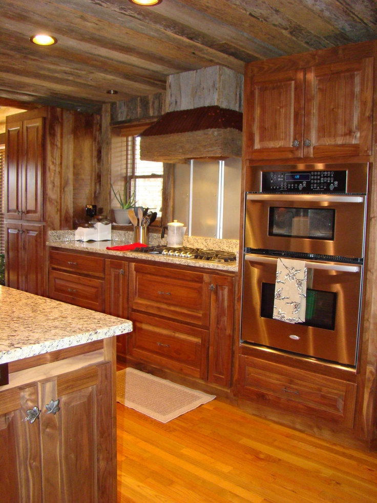 barn wood on pinterest rustic kitchen cabinets cabinets and cabin