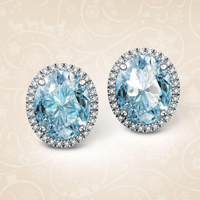 Blask, który zatrzymuje czas… Kolczyki z topazami błękitnymi o łącznej masie 5,60 ct i 60 diamentami o łącznej masie 0,18 ct. Wzór jubileuszowy, zaprojektowany z okazji 30-lecia YES.  Cena: 2995 PLN  http://www.yes.pl/46362-kolczyki-jubile-BB-Z-000-Y02-3677WBT