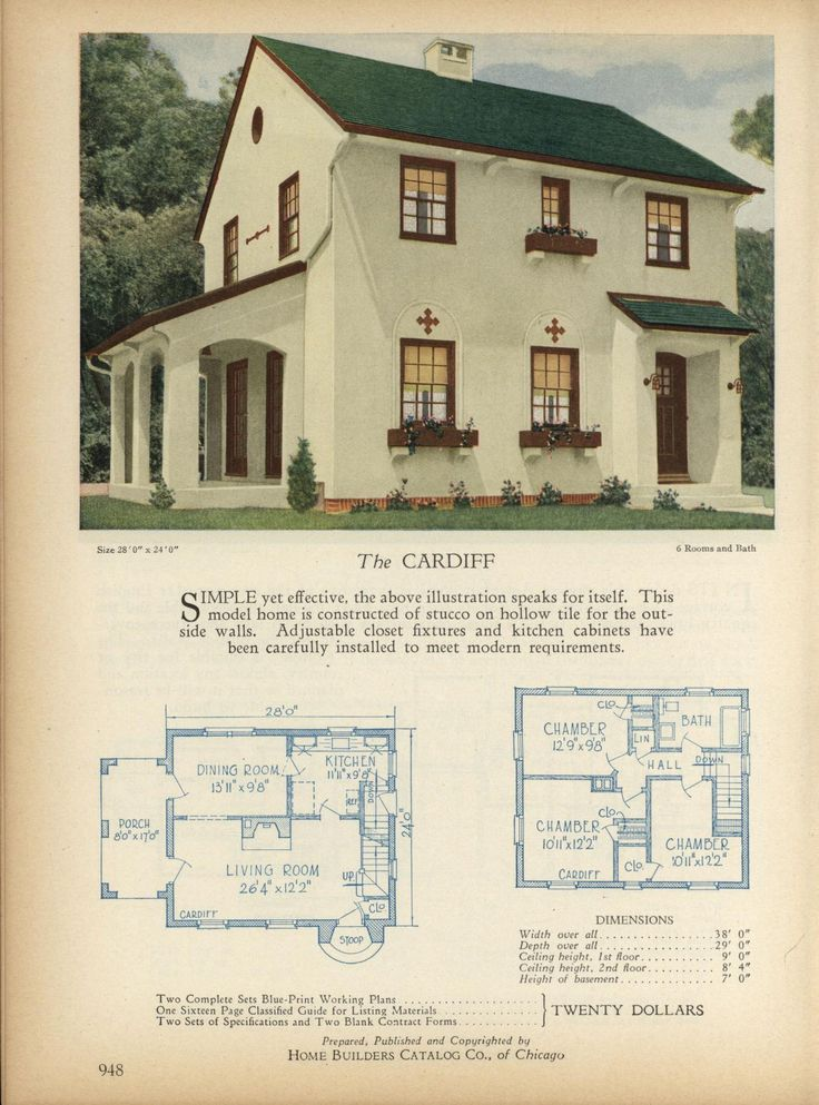 329 best Small House Plans images on Pinterest   Small houses ...