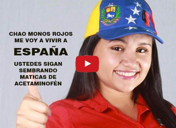 """La """"Sembradora de Acetaminofén"""" pide asilo en España  http://www.facebook.com/pages/p/584631925064466"""