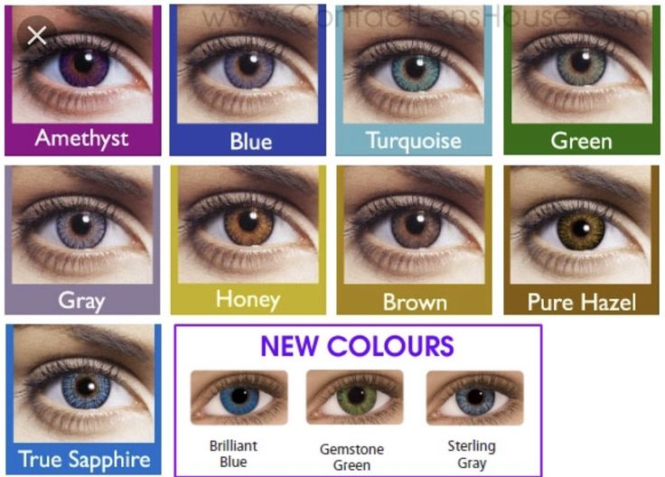 Color contacts (3 pairs special)