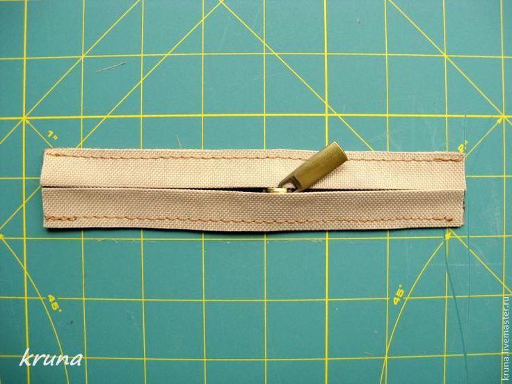 Изготовление сумки с фермуаром, который крепится с помощью стопорных винтов или шурупов. Часть 1 - Ярмарка Мастеров - ручная работа, handmade