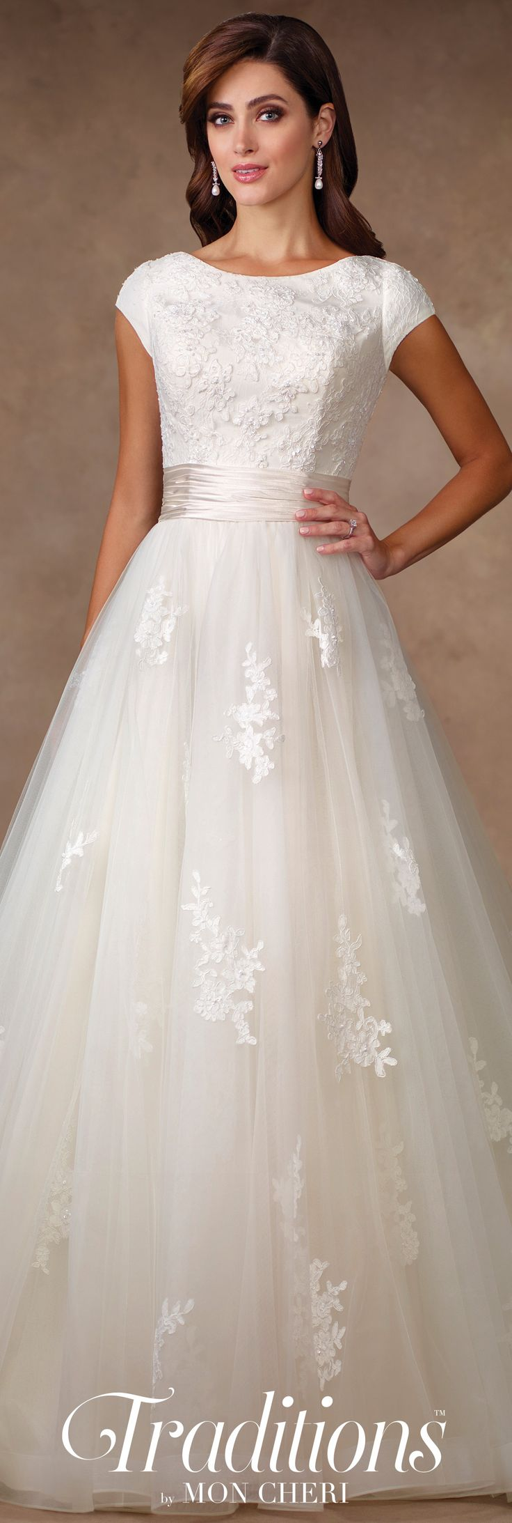 116 best mature bride wedding dresses images on pinterest for Modest dresses to wear to a wedding