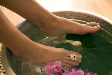 Get your toes ready for summer or a big event with a spa pedicure at home. These tips make it easy – and cheap – to get a spa pedicure at home.