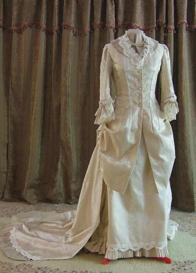Victorian era wedding dresses