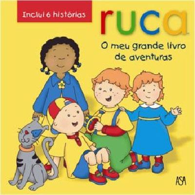 livro de histórias do Ruca