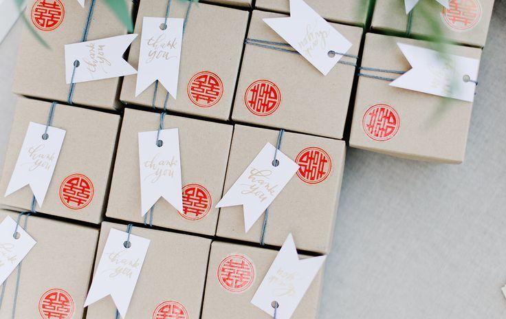 Asian inspired wedding favors | #weddinginspiration