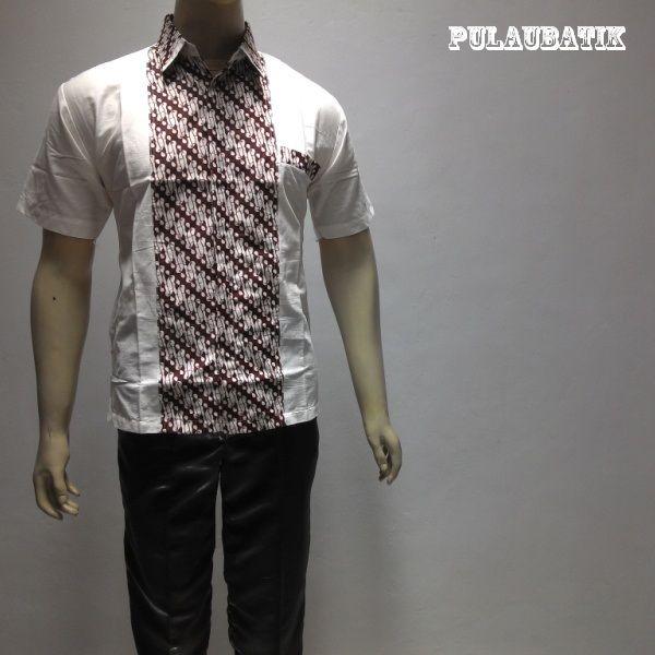 Kemeja baju batik pria terbaru online disolo