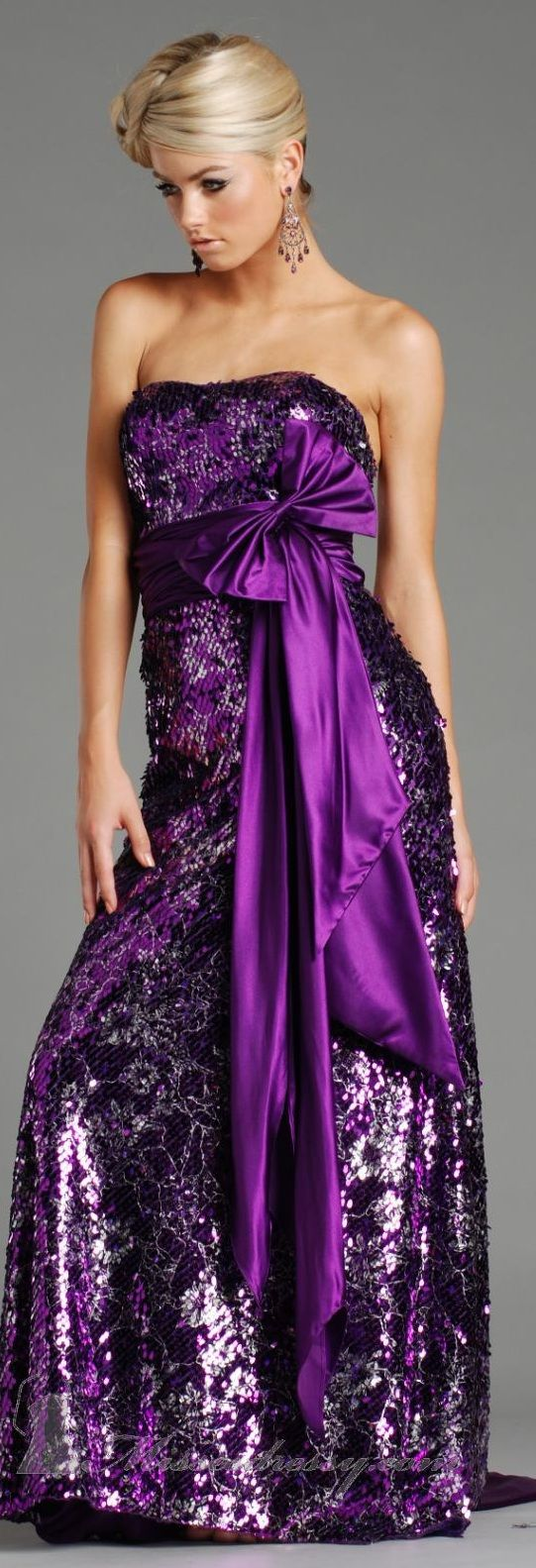 1000  ideas about Purple Evening Gowns on Pinterest  Purple dress ...