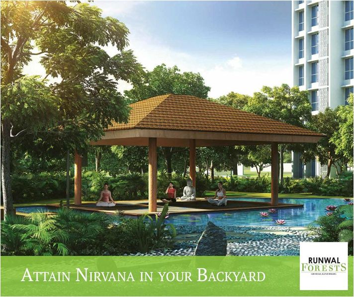 Kickstart your mornings with yoga at the pavilions by the beautiful lotus pond at Runwal Forests. Experience the freshness and serenity that leaves you truly mesmerized.
