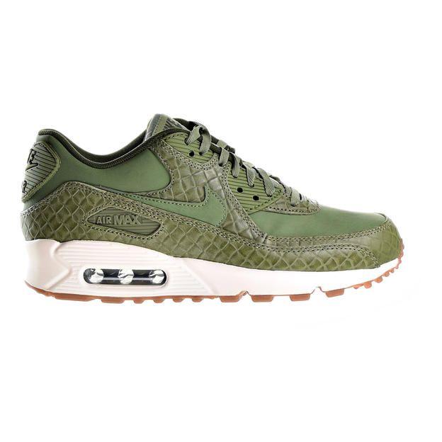 ec6d7dcfd6 ... Nike Nike Air Max 90 Premium Women's Shoe Palm Green/Sail/Legion Green  443817 ...