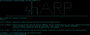 shARP is an anti-ARP-spoofing application software and uses active scanning method to detect any ARP-spoofing incidents.