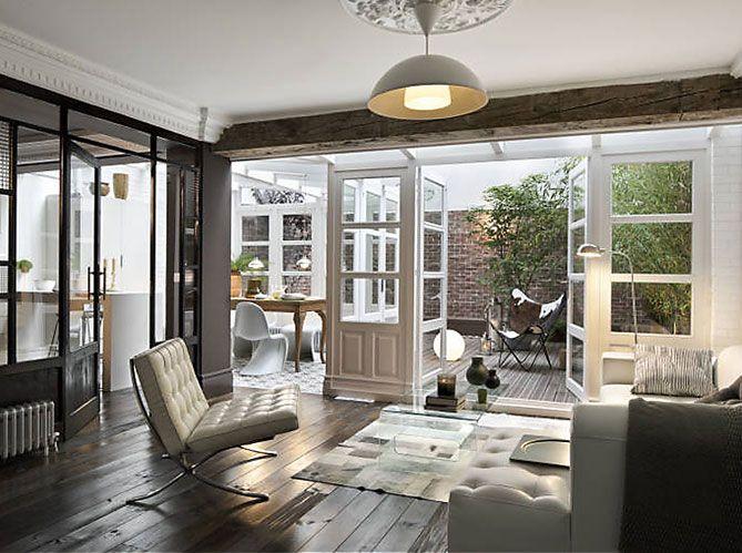 Die besten 25+ Atriumfenster Ideen auf Pinterest The boardroom - wohnzimmer grose fensterfront
