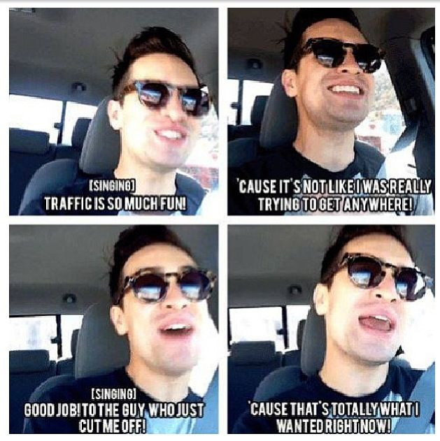 Brendon Urie on Vine that sad thing is, I know how this goes....
