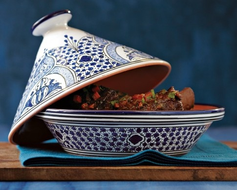 If you want to try your hand at a tagine, pick a nice one -- just in case your results are mixed. $50