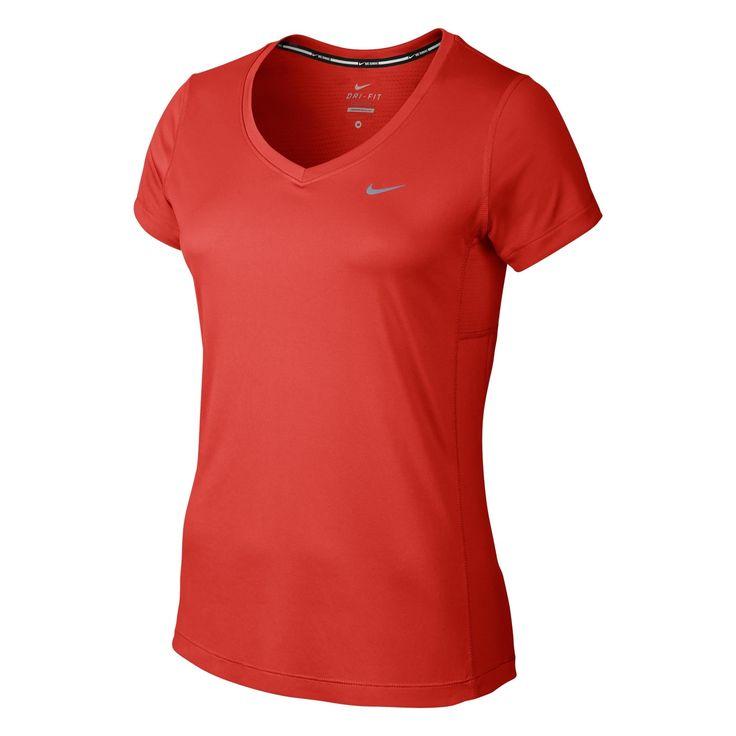 Nike Women's Miler V-Neck Running T-Shirt | Intersport UK