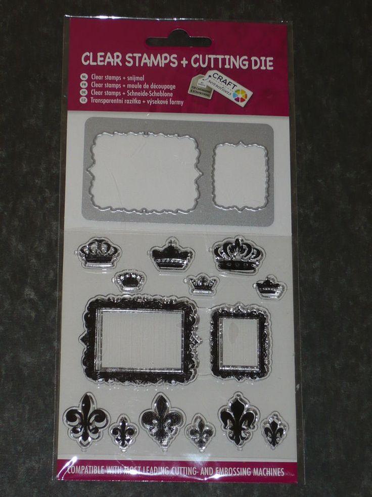 Rahmen Stanzschablonen + Stempel Clear Stamps + Cutting Die von CRAFT SENSATIONS  | eBay