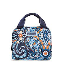Lighten Up Lunch Cooler Bag in Blue Bandana | Vera Bradley