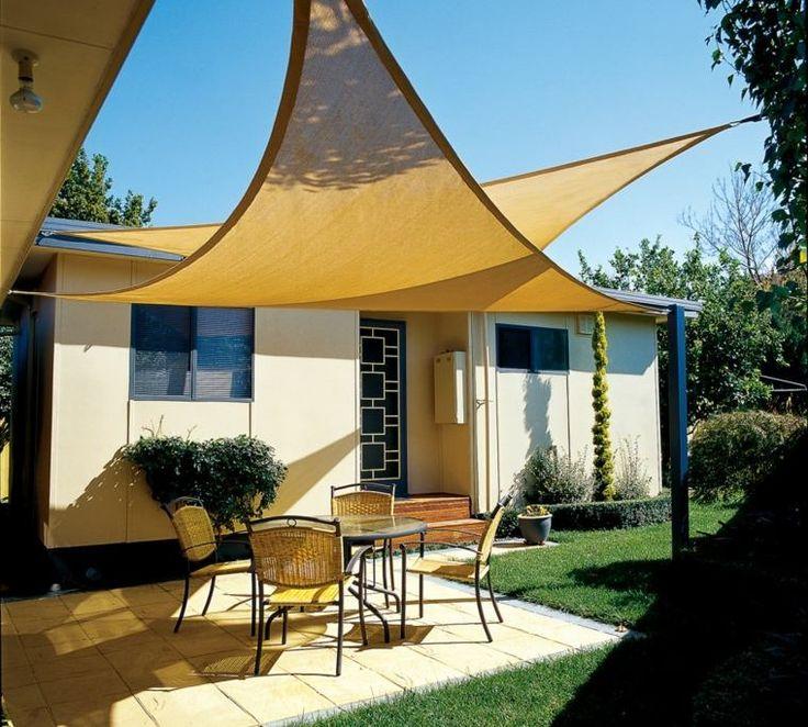 Voile Pour Terrasse Top Toile Pour Terrasse Toile Tendue Au Jardin