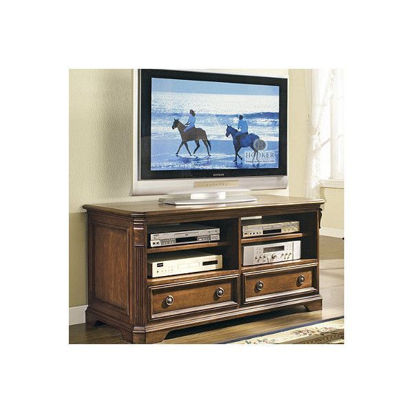 Entertainment Console For Plasma/Dlp/Lcd Televisions ($899) ❤ liked on Polyvore featuring home, furniture, storage & shelves, entertainment units, tv media stand, frontgate, tv/dvd swivel stand, media console and media cabinet