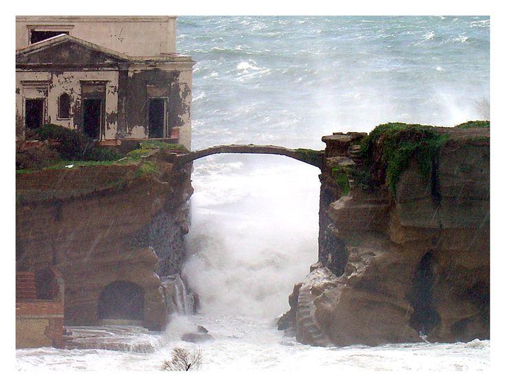 Gaiola Island, Sicily http://it.wikipedia.org/wiki/Isola_della_Gaiola