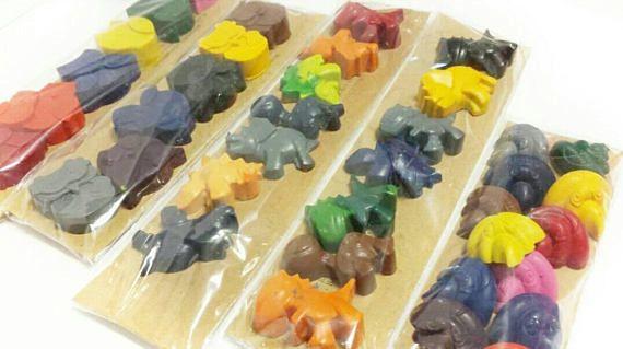 300df8046d650 Dinosaur Crayons, Childrens Easter, Basket Filler, Crayon Party ...