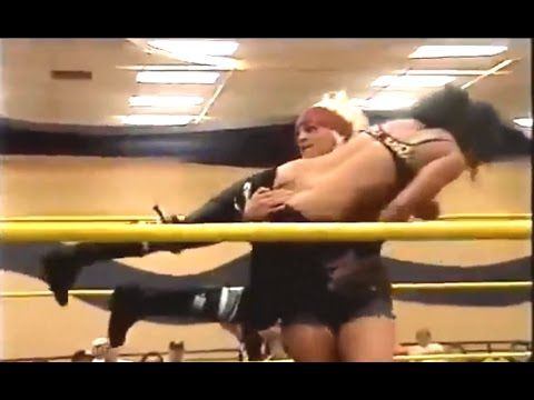 Girls Wrestling - ODB vs Christina Von Eerie - Female Wrestling Heavy We...