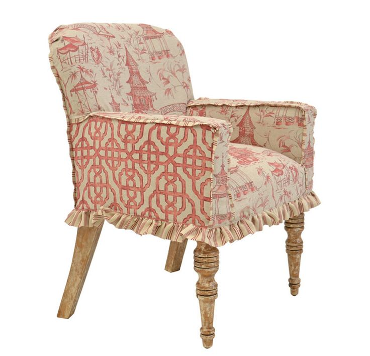 Cute Slipcovered Chair · Slipcover ChairChair RedoFurniture  SlipcoversUpholstered ...