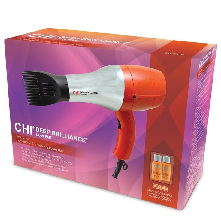 Chi Deep Brilliance Hair Dryer for Highly-Textured Hair #ToTry