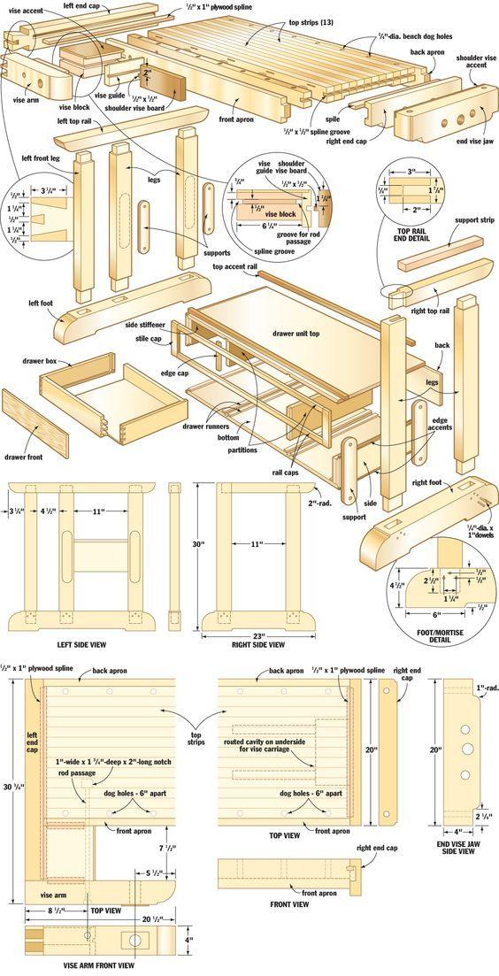 Craftsman's workbench:
