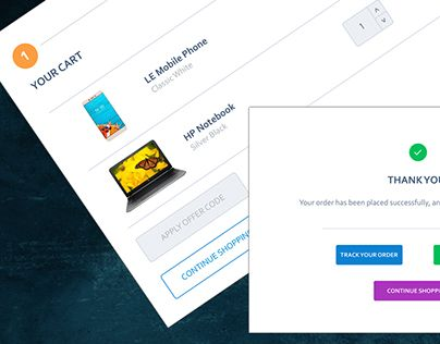 """Check out new work on my @Behance portfolio: """"UI Design 