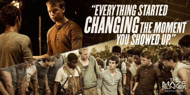 Movie Quote - The Maze Runner Film Photo (37184218) - Fanpop