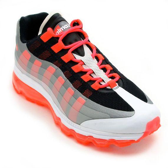 the best attitude 7b46e 7d95b Nike Air Max 95 360 - White - Black - Solar Red - SneakerNews.com ...