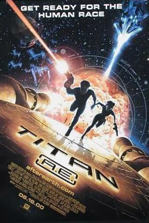 Titan AE. Love this movie. Haven't seen it in forever!