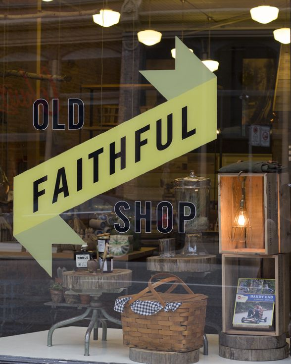 Old Faithful Shop. I swear, you can find anything here...it's like an old-fashioned general store, but in today's world. Very cute. www.oldfaithfulshop.com, in Vancouver's Gastown neighbourhood.