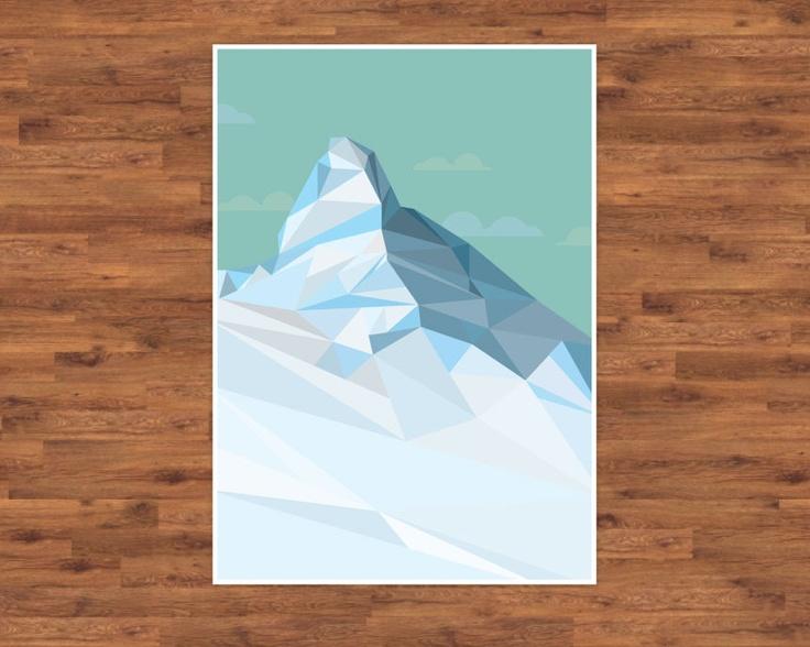 Geometric Matahorn - Craig Davis - Graphic Designer